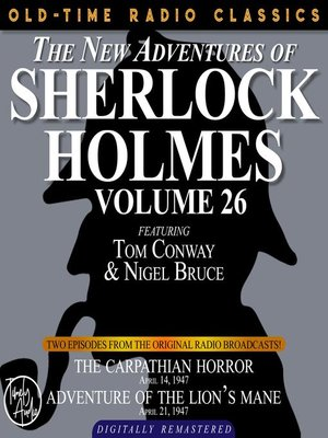 cover image of The New Adventures of Sherlock Holmes, Volume 26, Episode 1