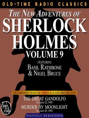cover image of The New Adventures of Sherlock Holmes, Volume 9, Episode 1