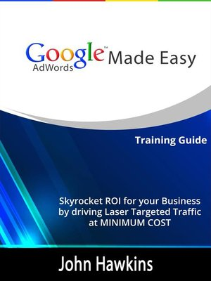 cover image of Google AdWords Made Easy