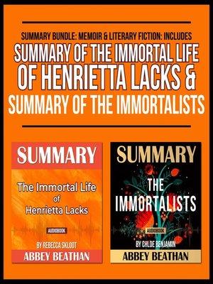 cover image of Summary Bundle: Memoir & Literary Fiction