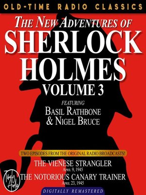 cover image of The New Adventures of Sherlock Holmes, Volume 3, Episode 1