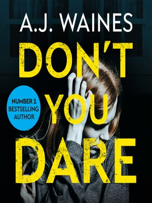 cover image of Don't You Dare