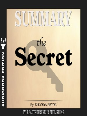 cover image of Summary of The Secret by Rhonda Byrne
