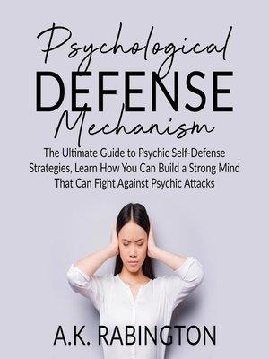cover image of Psychological Defense Mechanism