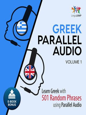 cover image of Learn Greek with 501 Random Phrases using Parallel Audio, Volume 1