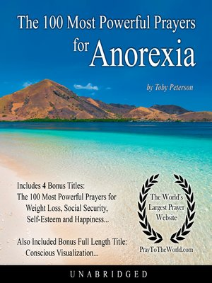 cover image of The 100 Most Powerful Prayers for Anorexia