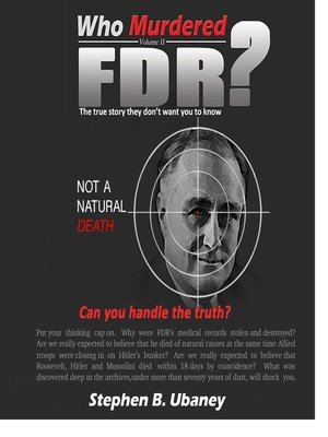 cover image of Who Murdered FDR?