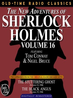 cover image of The New Adventures of Sherlock Holmes, Volume 16, Episode 1