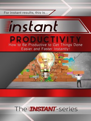 cover image of Instant Productivity