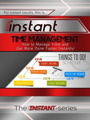 cover image of Instant Time Management