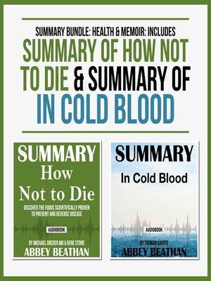 cover image of Summary Bundle: Health & Memoir
