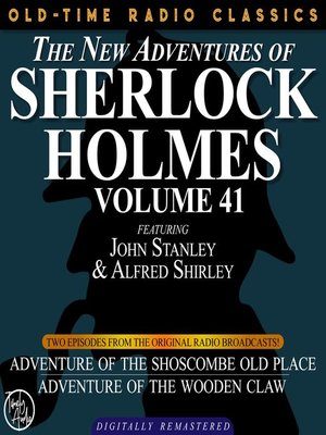 cover image of The New Adventures of Sherlock Holmes, Volume 41, Episode 1
