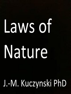cover image of Laws of Nature