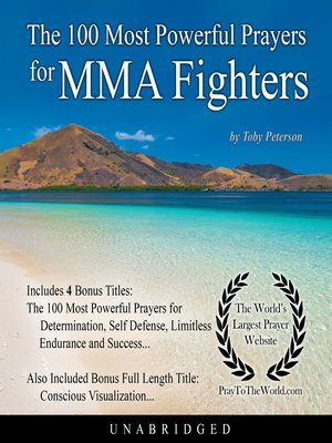 cover image of The 100 Most Powerful Prayers for MMA Fighters