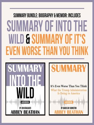 cover image of Summary Bundle: Biography & Memoir