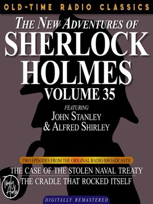 cover image of The New Adventures of Sherlock Holmes, Volume 35, Episode 1