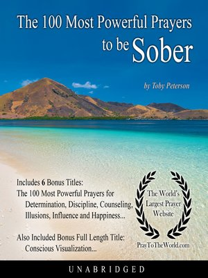 cover image of The 100 Most Powerful Prayers to be Sober