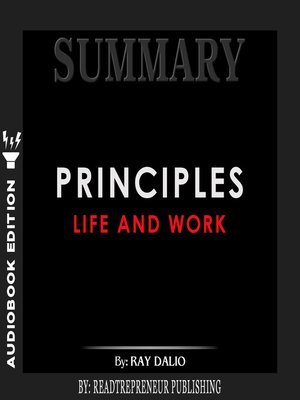 cover image of Summary of Principles: Life and Work by Ray Dalio