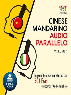 cover image of Impara il cinese mandarino con 501 Frasi utilizzando l'Audio Parallelo - Volume 1