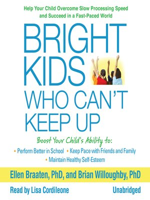 cover image of Bright Kids Who Can't Keep Up