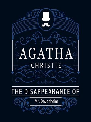 cover image of The Disappearance of Mr. Davenheim