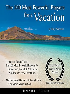 cover image of The 100 Most Powerful Prayers for a Vacation