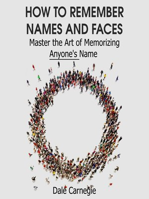cover image of How to Remember Names and Faces