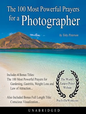 cover image of The 100 Most Powerful Prayers for a Photographer