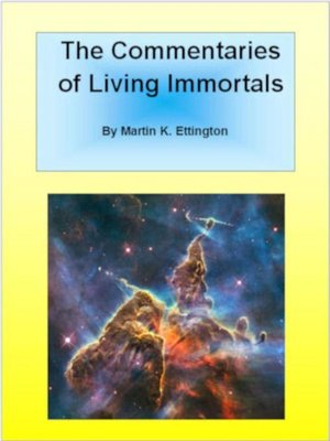 cover image of The Commentaries of Living Immortals