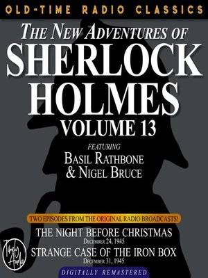 cover image of The New Adventures of Sherlock Holmes, Volume 13, Episode 1