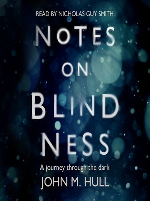 cover image of Notes on Blindness