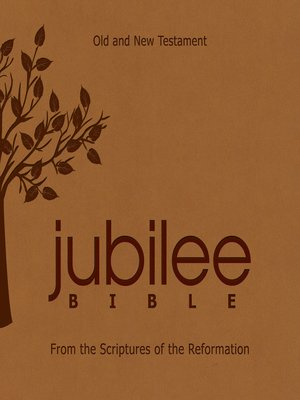 cover image of The Jubilee Bible
