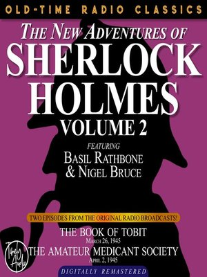 cover image of The New Adventures of Sherlock Holmes, Volume 2, Episode 1