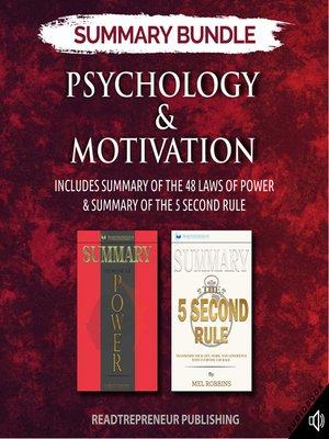 cover image of Summary Bundle: Psychology & Motivation