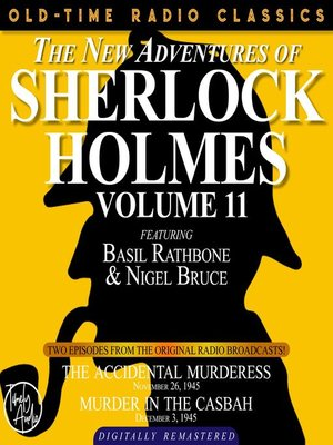 cover image of The New Adventures of Sherlock Holmes, Volume 11, Episode 1