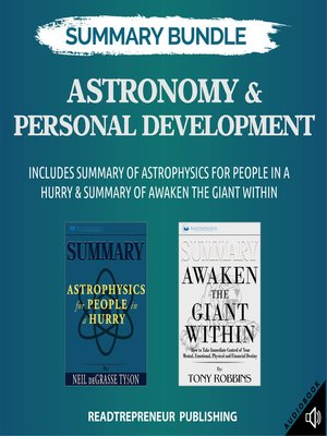 cover image of Summary Bundle: Astronomy & Personal Development