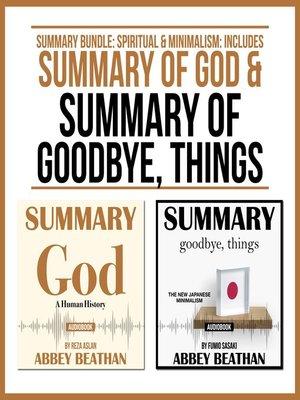 cover image of Summary Bundle: Spiritual & Minimalism