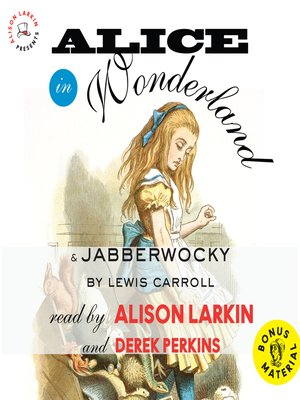 cover image of Alice in Wonderland and Jabberwocky