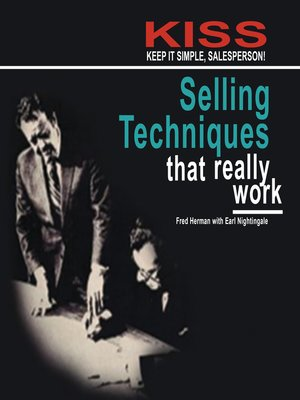 cover image of KISS: Keep It Simple, Salesperson