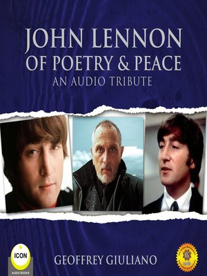 cover image of John Lennon of Poetry & Peace