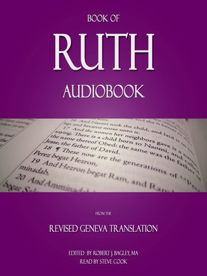 Book of Ruth Audiobook : From the Revised Geneva Translation - Audiobook