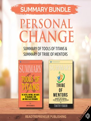 cover image of Summary Bundle: Personal Change