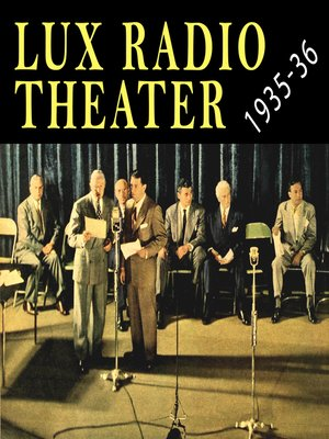 cover image of Lux Radio Theater 1935-1936