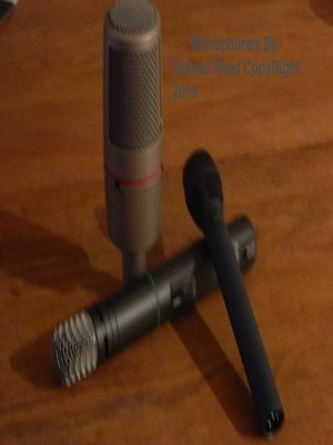 cover image of Microphones by Donald Reed