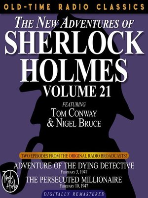 cover image of The New Adventures of Sherlock Holmes, Volume 21, Episode 1