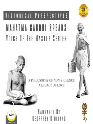 cover image of Mahatma Gandhi Speaks - Voice Of The Master Series