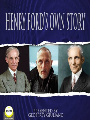 cover image of Henry Ford's Own Story