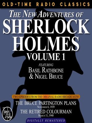 cover image of The New Adventures of Sherlock Holmes, Volume 1, Episode 1