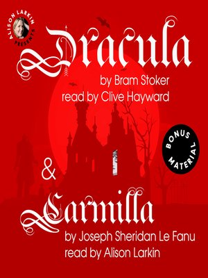 cover image of Dracula / Carmilla