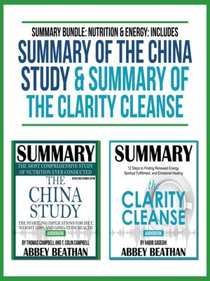 cover image of Summary Bundle: Nutrition & Energy